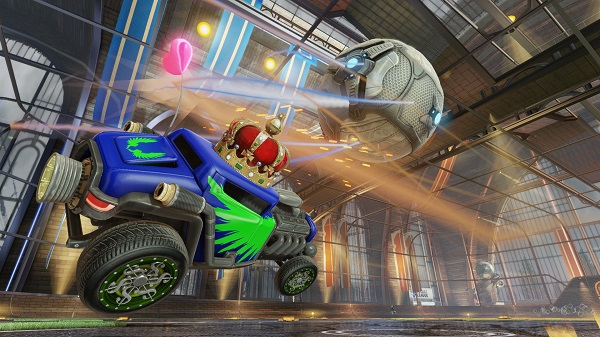 Rocket League races onto Steam and PS4