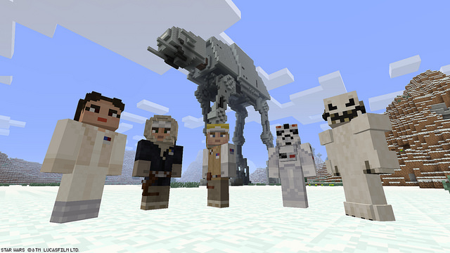 Star Wars arrives on Minecraft on PlayStation