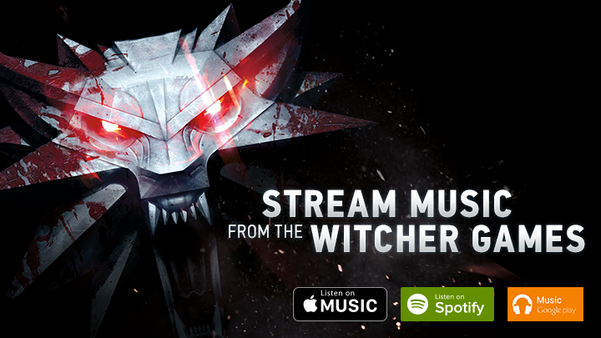 Music from The Witcher games available on digital services