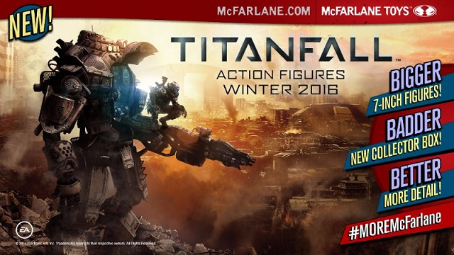 McFarlane Toys announces Titanfall action figure line