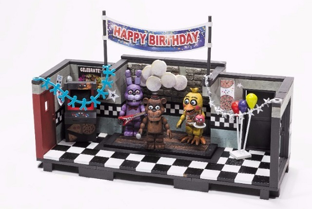 Five Nights at Freddy's construction sets announced