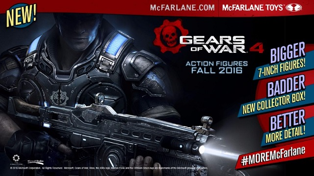 Gears of War 4 action figure line announced