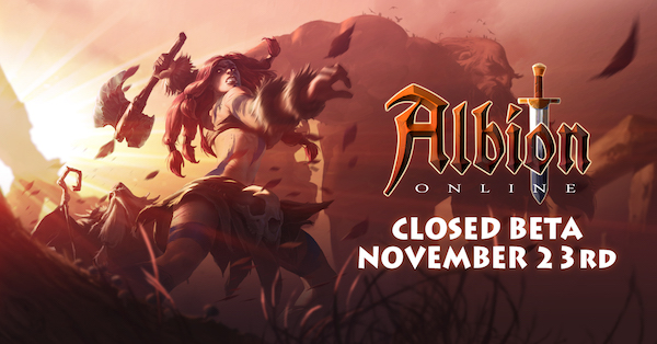 Albion Online launches closed beta test