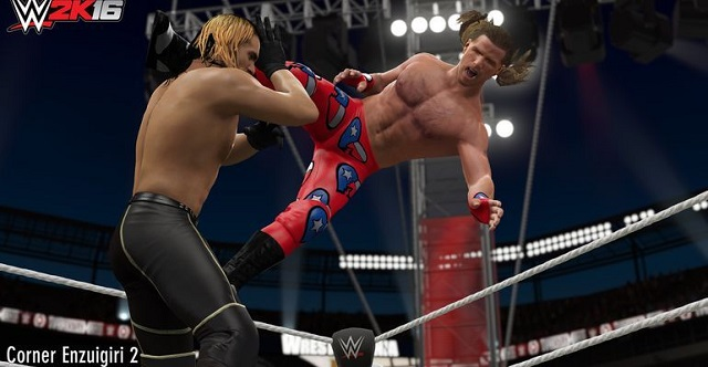 WWE 2K16 unleashes new moves