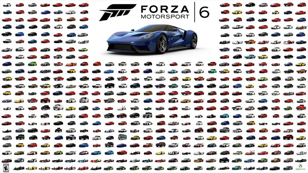 Forza Motorsport 6 goes gold, demo coming