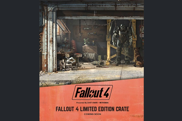 Limited edition Fallout 4 Loot Crate coming in November