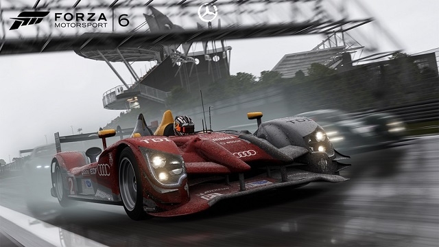 Forza Motorsport 6 getting a little wet news image
