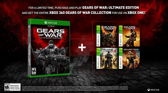 Buy Gears of War: Ultimate Edition and get the entire Gears collection for free
