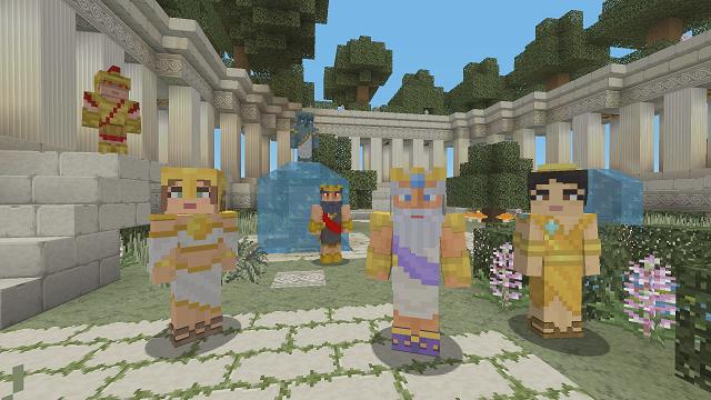 Minecraft going Greek