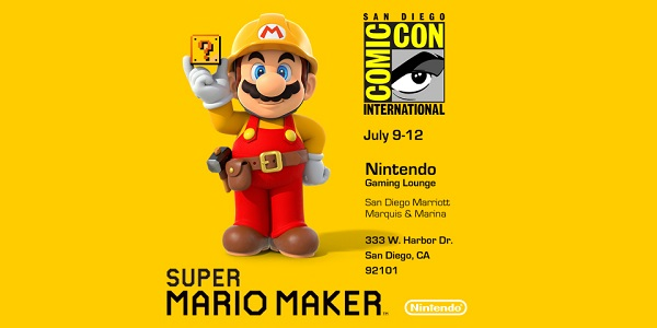 Nintendo announces Comic-Con events and tournaments