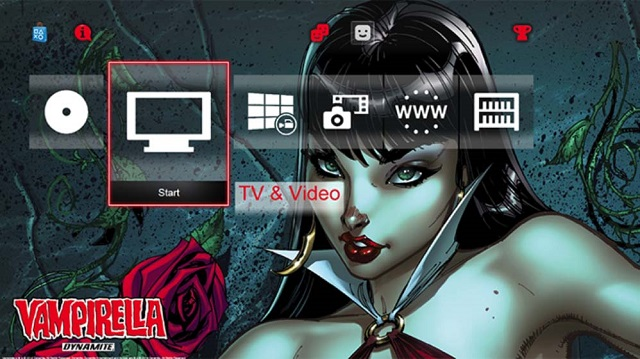 Vampirella and Red Sonja themes available for PS4