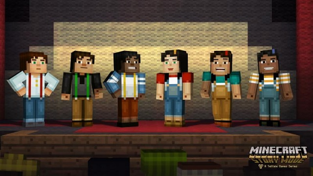Minecraft: Story Mode voice cast revealed