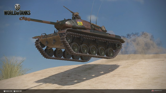 World of Tanks unleashes a Brazilian Bulldog on Xbox