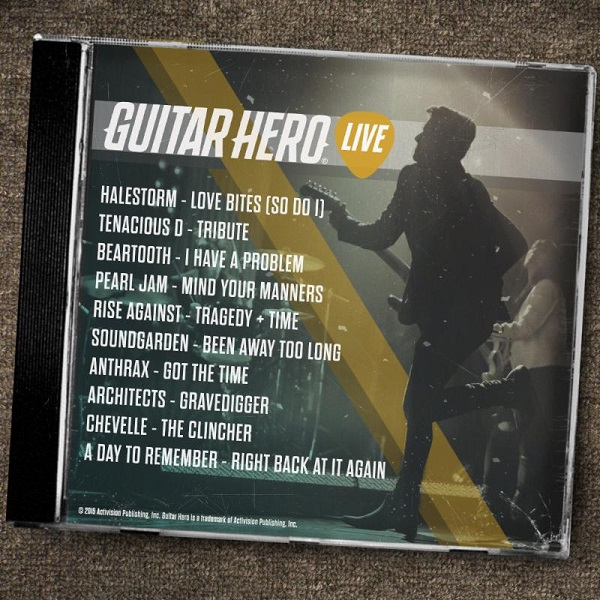 Guitar Hero Live track reveal for May 26th