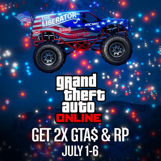 GTA Online doubles up on July 4th celebrations