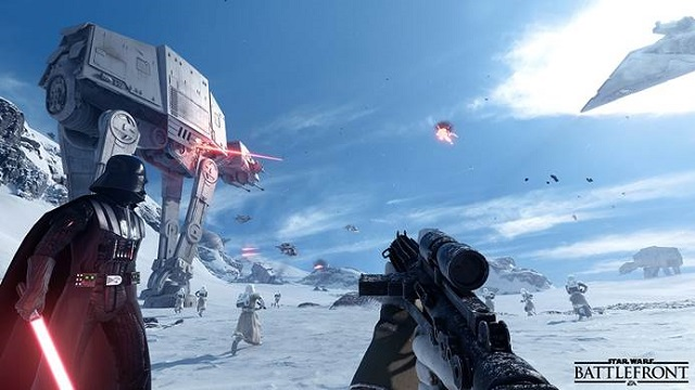 Star Wars Battlefront beta launches next month