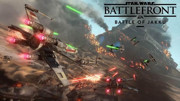 Star Wars Battlefront debuts Battle of Jakku today with livestream event