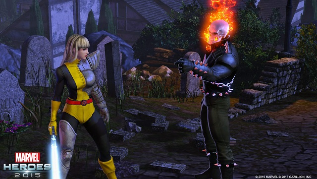 Magik appears Marvel Heroes 2015