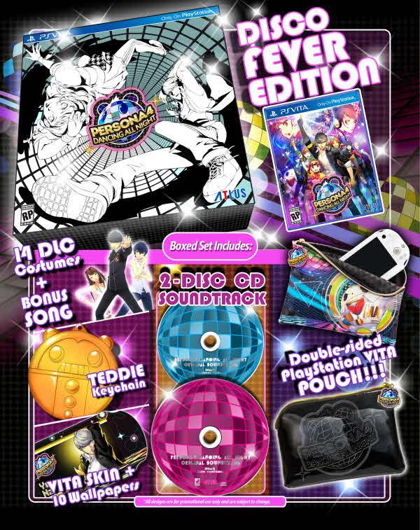 Persona 4 catches disco fever