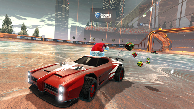 Rocket League in a holiday gift-giving mood