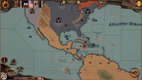 Colonial Conquest steams onto Steam