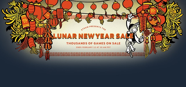 Steam launches Lunar New Year Sale