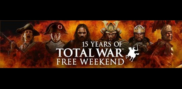 Total War is totally free this weekend