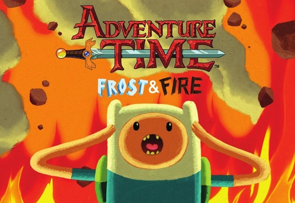 Adventure Time - Frost & Fire (DVD)
