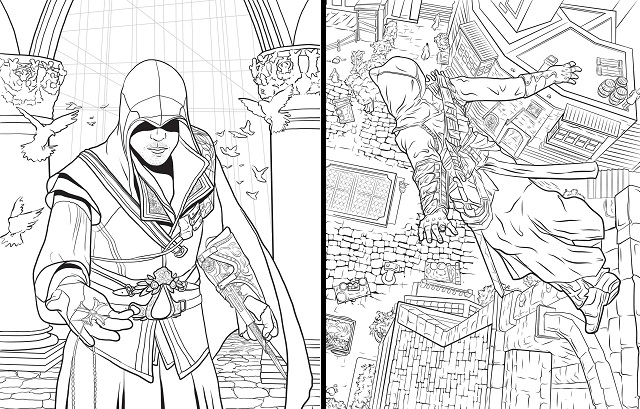 Assassin S Creed The Official Coloring Book Book Review The