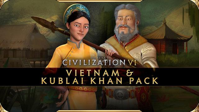 Vietnam and Kublai Khan join Civilization VI