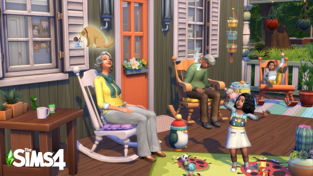 The Sims can now niftily knit