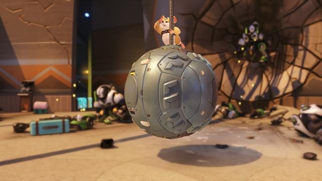 Wrecking Ball joining Overwatch next week