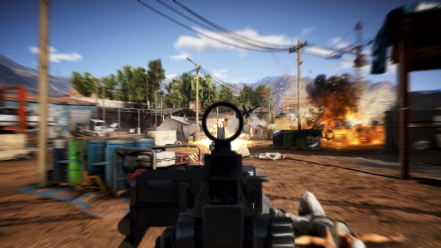 Ghost Recon Wildlands Debuts Live Action Video News From The