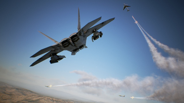 PCs join the fight in Ace Combat 7