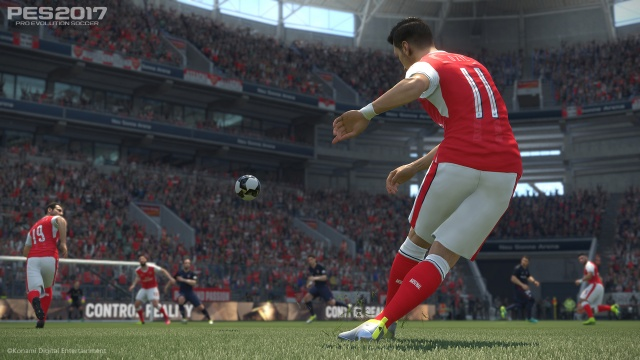 Pro Evolution Soccer 2017 demo released