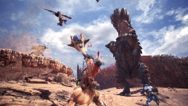 Monster Hunter: World available on PC