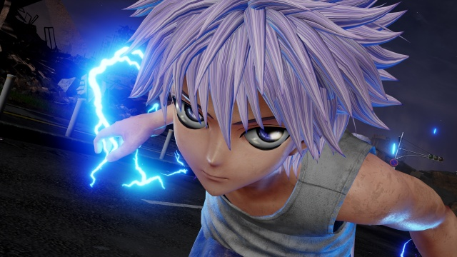 Jump Force jumping onto Switch