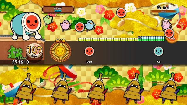 Bandai Namco beats out a pair of Taiko games