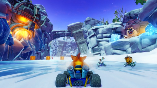 Crash Team Racing Nitro-Fueled is off and running