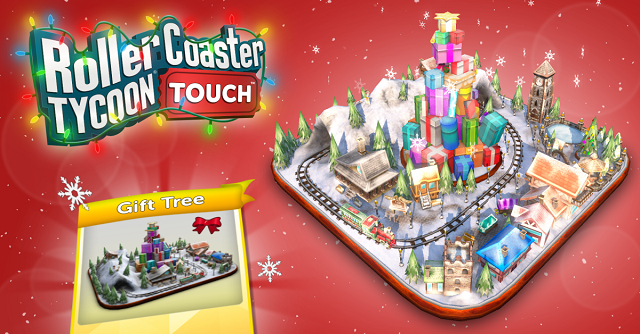 RollerCoaster Tycoon Touch celebrating the holidays - News