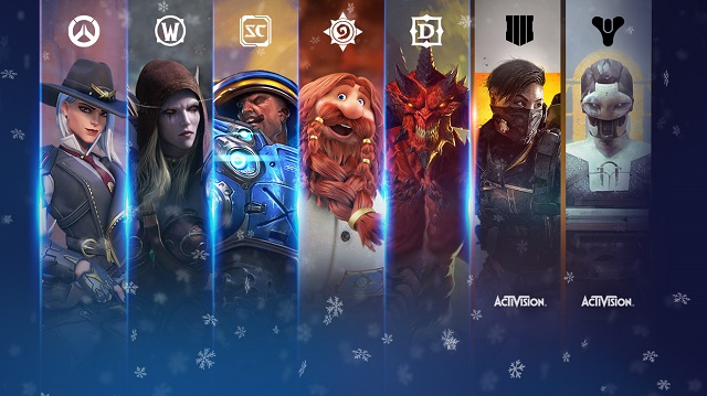 Blizzard launches Holiday Sale