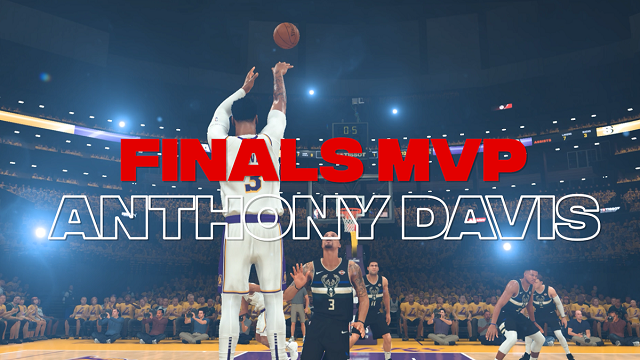 NBA 2K crowns 2020 NBA champions