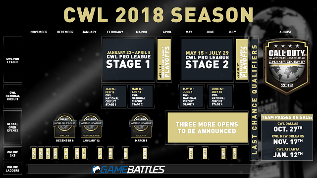 New season of Call of Duty World League unveiled