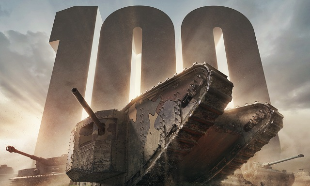 World of Tanks celebrating 100 year anniversary of the tank