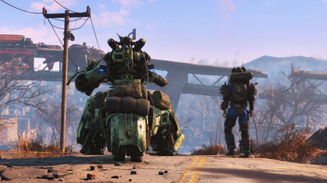 Automatron drops on Fallout 4