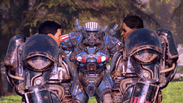 Fallout 76 launching Steel Reign in July