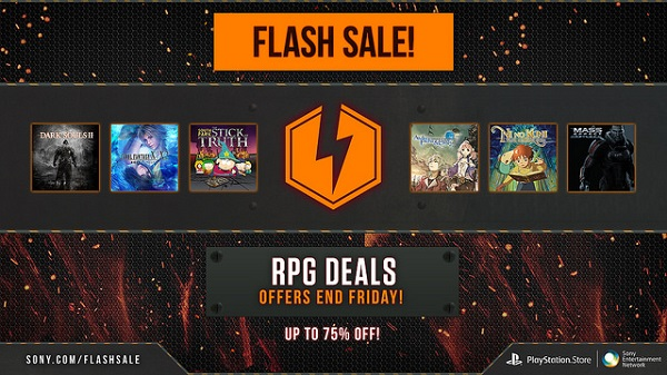 PSN RPG flash sale includes Stick of Truth and Dark Souls 2
