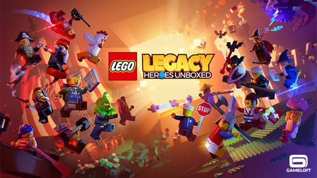 LEGO unboxes its heroes