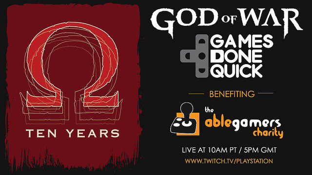 Watch top gamers speedrun God of War for charity