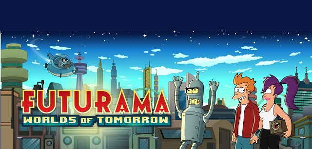Futurama returning sometime in the future in Worlds of Tomorrow